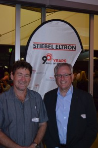 Mickey and Mr Sonnemann Stiebel Eltron 90th