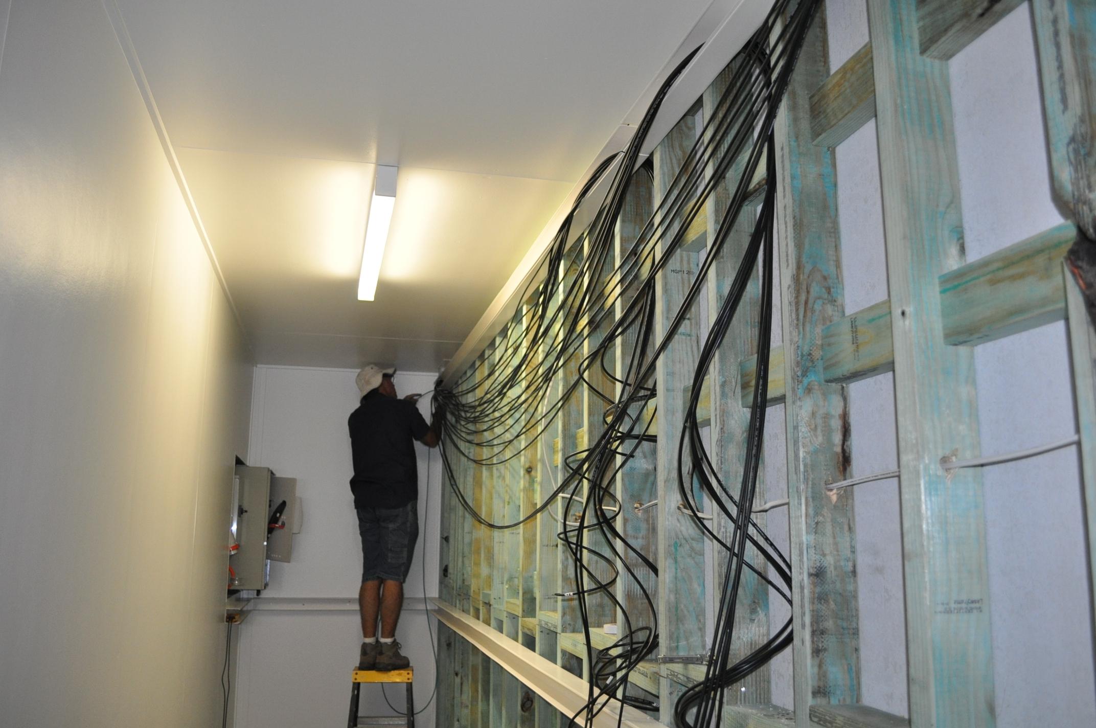 Pre-wiring