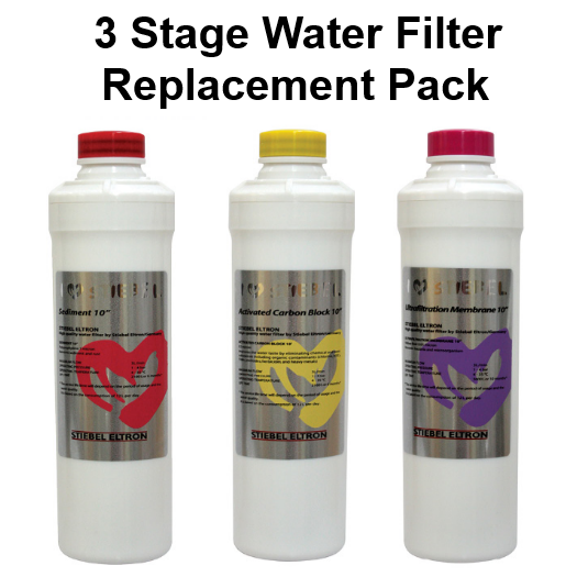 Stiebel Eltron 3 Stream Water Filter Replacement Pack