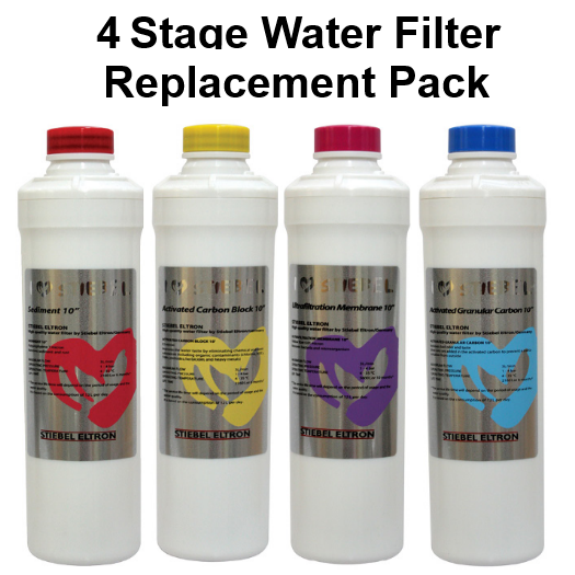 Stiebel Eltron Stream 4 Water Filter Replacement Pack