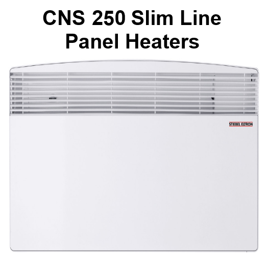 CNS 250 Slim Line Wall Mounted Panel Heater
