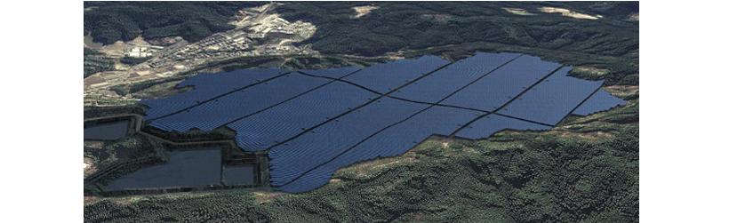 Hosoe solar plant with 300 000 Trina Solar Panels
